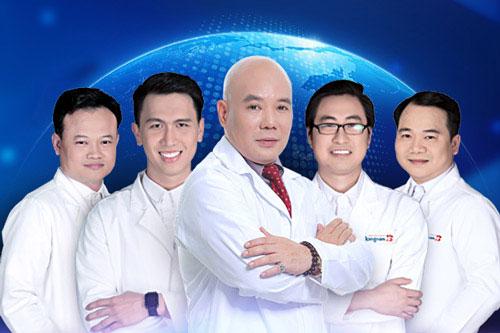 bác sĩ nhã bệnh viện kangnam