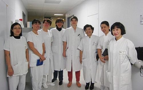 bác sĩ bệnh viện Xanh Pôn