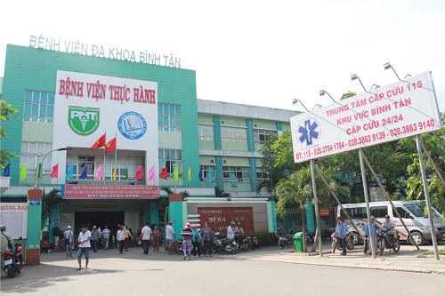 bệnh viện bình tân