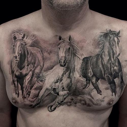 hình xăm ngựa đẹp nhất
