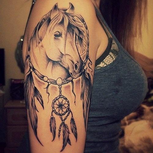 hình xăm ngựa đẹp