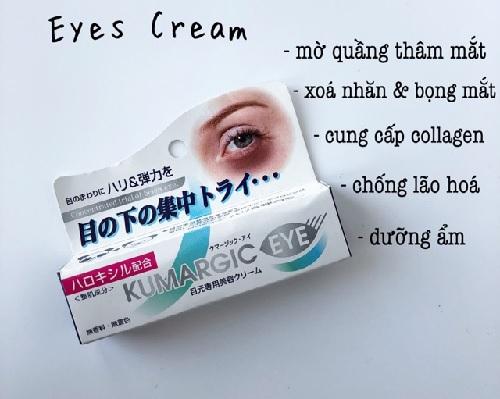 kem trị bọng mắt nào tốt nhất