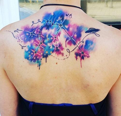 tattoo bảo bình nữ