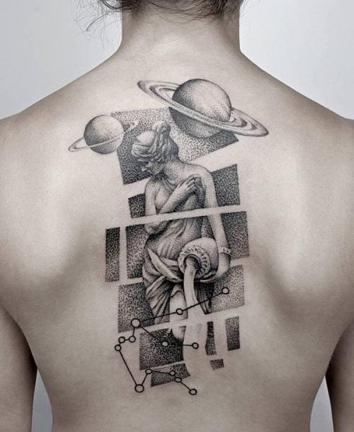 tattoo bảo bình