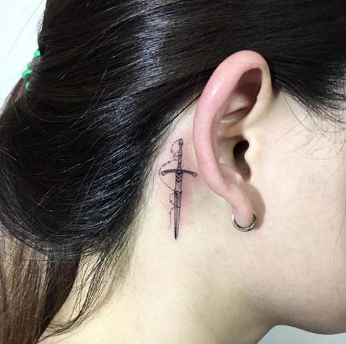tattoo cho nữ mệnh kim