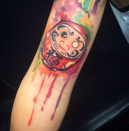tattoo daruma mini