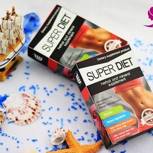 thuốc giảm cân super diet plus