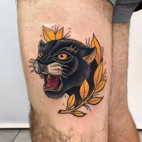 ý nghĩa hình xăm con báo đen