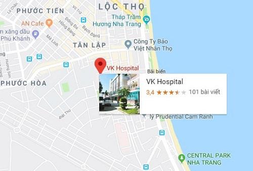 bệnh viện 22-12 ở đâu
