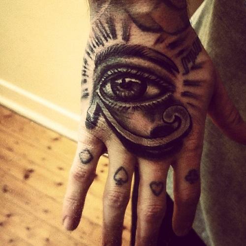 hình xăm con mắt thần horus đẹp