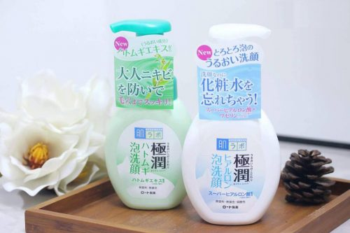 sữa rửa mặt hada labo gokujyun