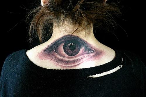 tattoo con mắt
