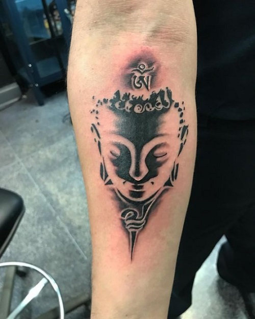 tattoo phật mini