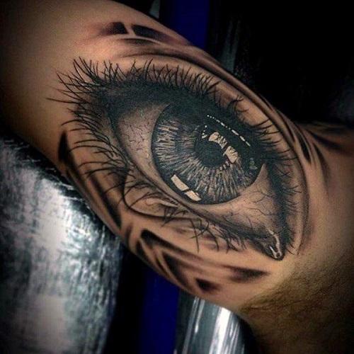 ý nghĩa hình xăm mắt