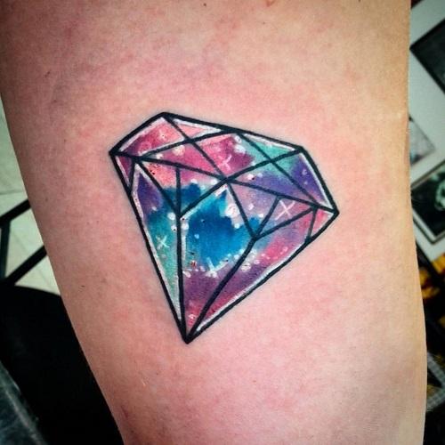 hình xăm kim cương có ý nghĩa gì