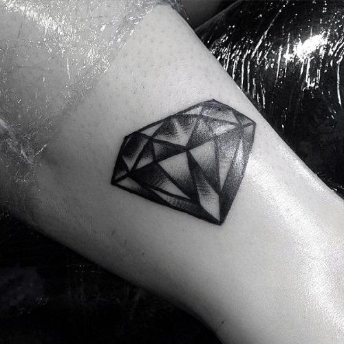 hình xăm kim cương đẹp