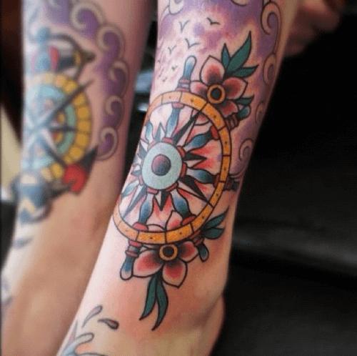 tattoo la bàn design