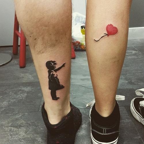xăm tatoo đôi